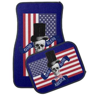 Lustiger gotischer patriotischer Amerikaner Automatte