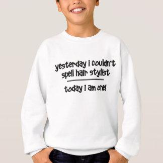 lustiger Haar-Stylist Sweatshirt