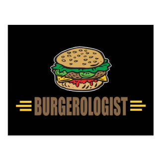 Lustiger Hamburger Postkarte