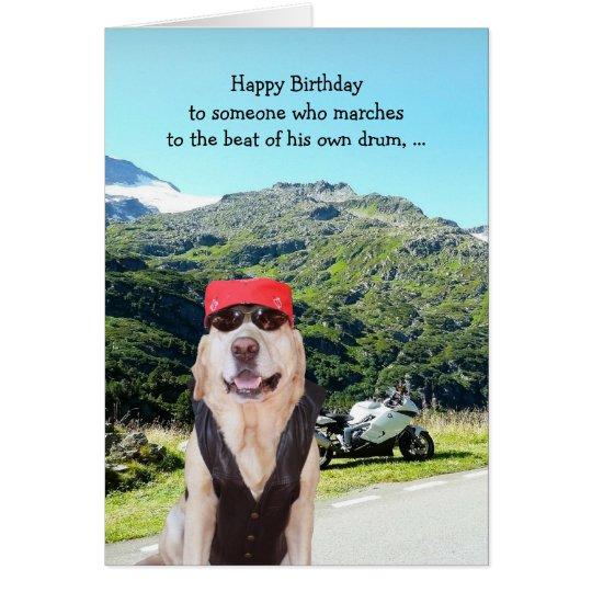 Lustiger Hunde-/Labrador-Geburtstag für männlichen Karte