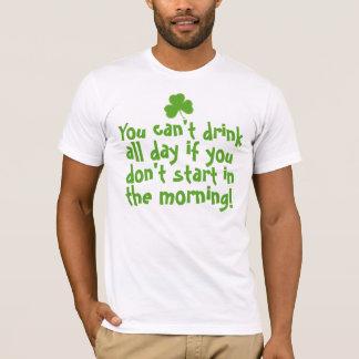 Lustiger irischer Bier-Spaß T-Shirt
