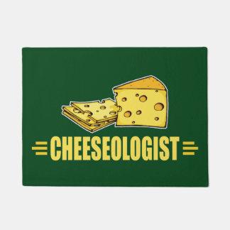 Lustiger Käse Cheeseologist Cheesehead Türmatte