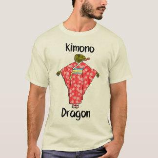 Lustiger Kimono-Drache T-Shirt