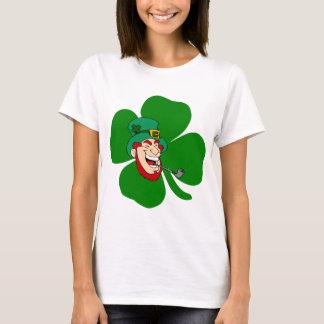 Lustiger Kobold irisches St. Patricks T-Shirt