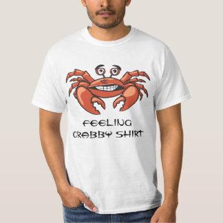 Lustiger Krabben-Typ-cooler Spaß-Trendy Spaß T-Shirt