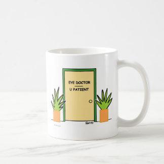 Lustiger kundenspezifischer Optometriker-optischer Kaffeetasse
