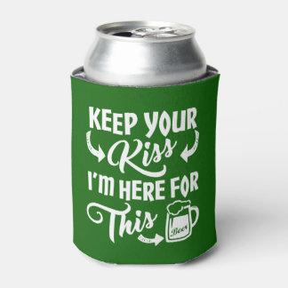 Lustiger Kuss-Sein-Gegangenes | irisches Bier St. Dosenkühler