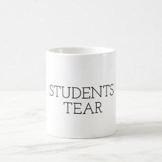 Lustiger Lehrer-Tassen-Geschenk STUDENTEN-RISS Kaffeetasse