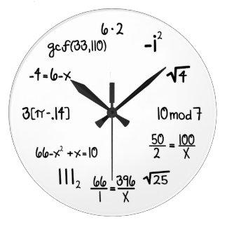 Lustiger Mathe-Genie-Aussenseiter Uhren