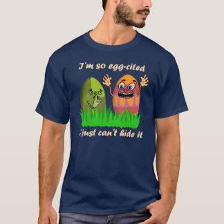Lustiger niedlicher Osterei-Cartoon T-Shirt