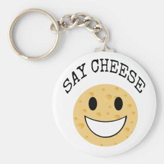 lustiger niedlicher Witz sagen Käse Schlüsselanhänger