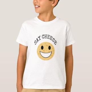 lustiger niedlicher Witz sagen Käse T-Shirt