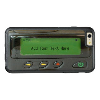 Lustiger pager-eindrucksvoller Blick der alte OtterBox iPhone 6/6s Plus Hülle