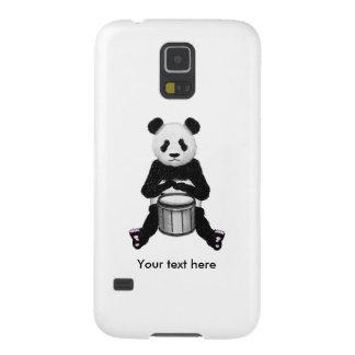 Lustiger Panda, der Trommeln spielt Samsung Galaxy S5 Hüllen