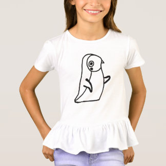 lustiger Penguinkindertier-Cartoon T-Shirt