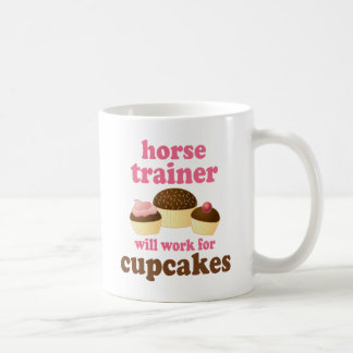 Lustiger Pferdetrainer Kaffeetasse