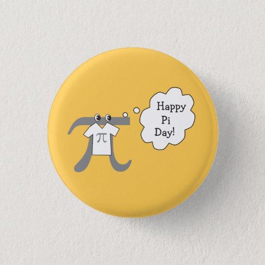 Lustiger PU-Typ - glücklicher PU-Tag Runder Button 3,2 Cm