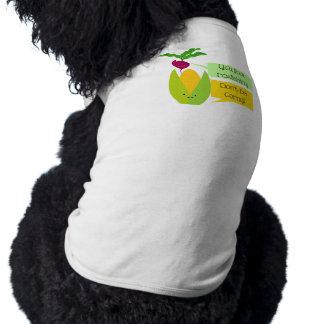 Lustiger Rettich-und Mais-Gemüse-Spaß Shirt