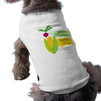 Lustiger Rettich-und Mais-Gemüse-Spaß T-Shirt