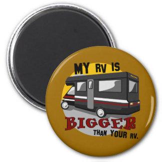 Lustiger RV-Campings-Magnet Runder Magnet 5,1 Cm