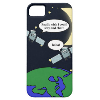 Lustiger Satellitenfall iPhone 5 Etuis