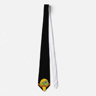 Lustiger sonderbarer Enten-Cartoon Krawatte