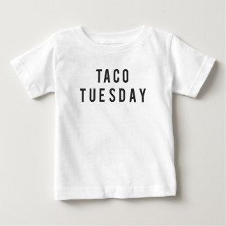 Lustiger Taco-Dienstag-Druck Baby T-shirt