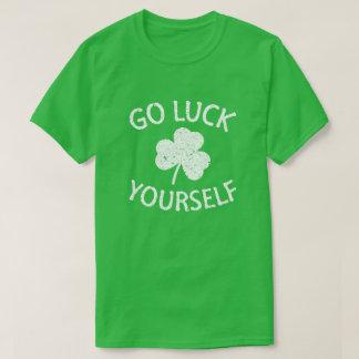 Lustiger Tag St. Patricks des viel Glück-sich - T-Shirt