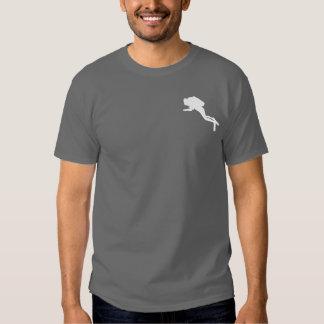 Lustiger Taucher des Sporttauchen-Spaßes T-shirts