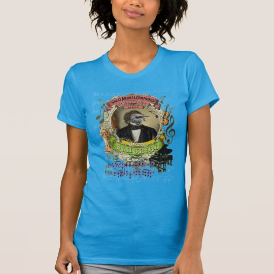 Lustiger Tierkomponist Schubert Franz Schubird T-Shirt
