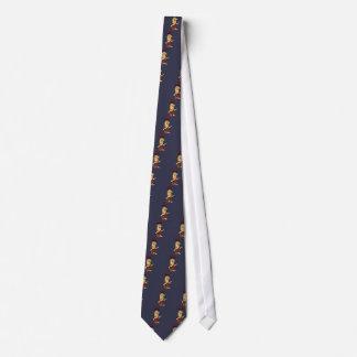 Lustiger Trumpf als Höhlenbewohner-politischer Personalisierte Krawatte