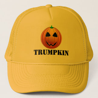 Lustiger Trumpf Trumpkin Kürbis Halloween Truckerkappe