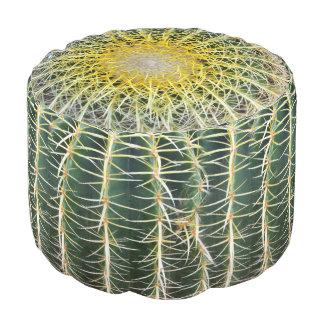 Lustiger unbequemer tropischer Kaktus Runder Sitzpuff