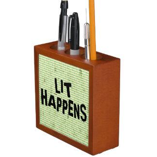 Lustiger Verfasser-Leser-Lit geschieht Stifthalter