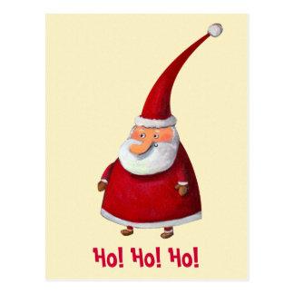 Lustiger Weihnachtsmann Postkarten