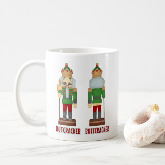 Lustiger Weihnachtsnussknacker Buttcracker Kaffeetasse