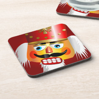 Lustiger Weihnachtsnussknacker-Spielzeug-Soldat Getränkeuntersetzer