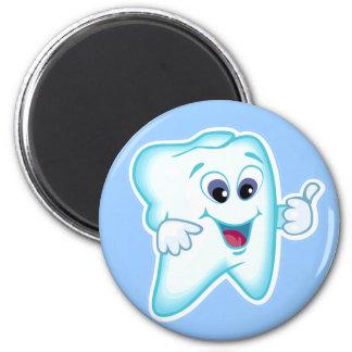 Lustiger Zahnarzthelfer Runder Magnet 5,1 Cm