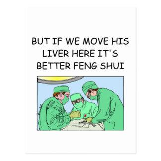 lustiger Zeitalterdoktorwitz Postkarte