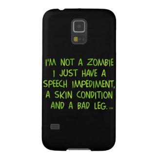 Lustiger Zombie nicht ein Zombie-Grün Galaxy S5 Hüllen