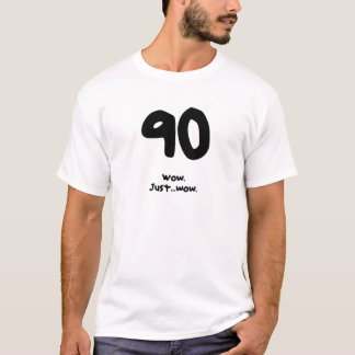 Lustiges 90. Geburtstags-Geschenk für einen Mann T-Shirt
