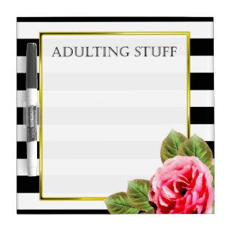 Lustiges Adulting Material für Frauen Memoboard