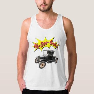 Lustiges Ah-Ooo-Gah Comic Horn des antiken Autos Tank Top