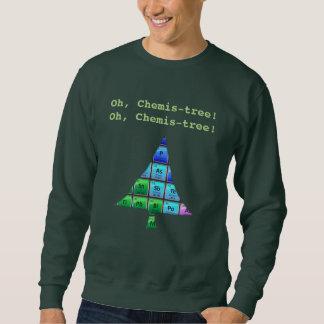Lustiges Aussenseiter-Wortspiel: Oh, Chemis-Baum! Sweatshirt