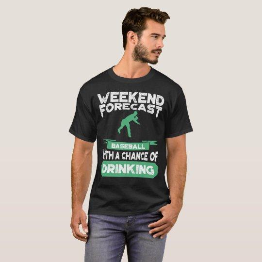 Lustiges Baseball-Werfer-T-Shirt T-Shirt