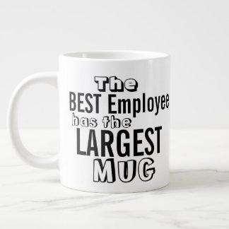 Lustiges bestes Angestellt-Zitat-große Tasse -
