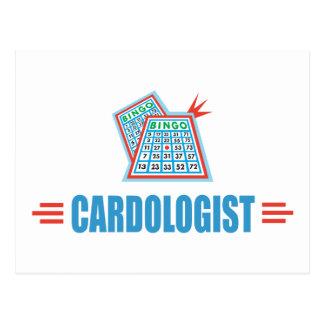 Lustiges Bingo Postkarte