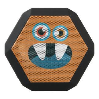 Lustiges Blau-Mit Augen niedliches Monster Schwarze Bluetooth Lautsprecher
