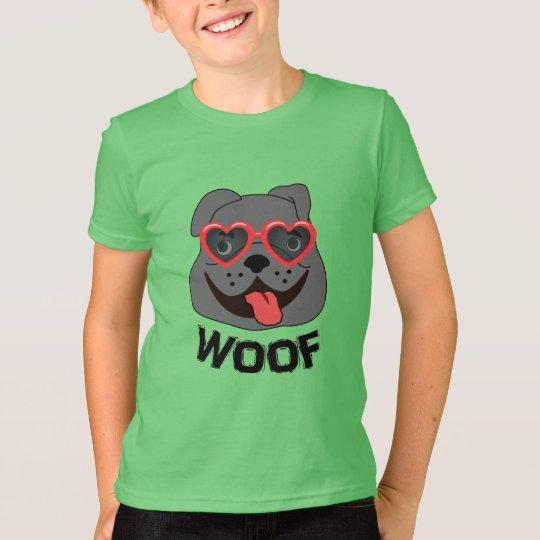 Lustiges Bulldoggen-T-Shirt für Kinder T-Shirt