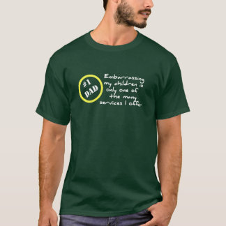 Lustiges Dadism, bester Vati-T - Shirt